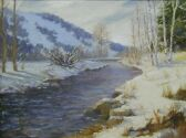 Steamboat Springs, 18x24